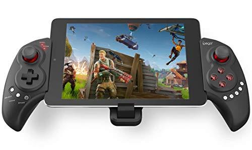 QKa Juego de Joystick, sin Hilos del Juego para PUBG Fotnite, Gamepad para Samsung Galaxy S10 + S10 S9 S8 S7, Soporte 10 Pulgadas Tablet PC