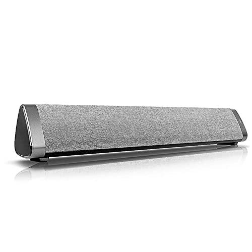 Mini 10W Soundbar V5.0 Altavoz Bluetooth, Audio de Cine en casa Multifuncional con Cable e inalámbrico para teléfonos Inteligentes, PC, televisores, portátiles, tabletas, proyectores y dispo
