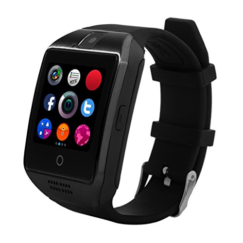 CHEREEKI Smart Watch con cinturino morbido per smartphone Android
