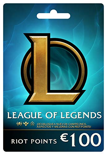 League of Legends €100 Tarjeta de regalo prepaga (15000 Riot Points)