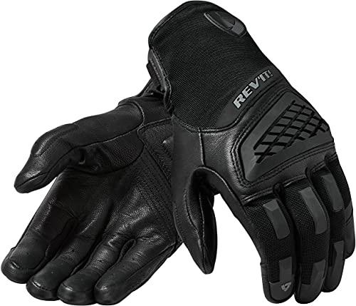 Revit Neutron 3 Motocross Handschuhe Schwarz/Schwarz XL