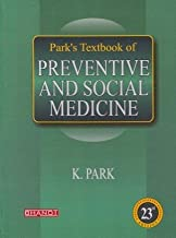 Park Textbook of Preventive and Social Medicine 23rd edition (park psm) [Hardcover] [Jan 01, 2015] Park
