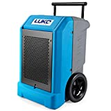 LUKO 230 Pints Commercial Dehumidifier with Pump & 25.5 FT Long Drain Hose, Portable Roto-Molded Industrial Dehumidifier for Efficient Water Damage Restoration, Construction Drying, Commercial Rental