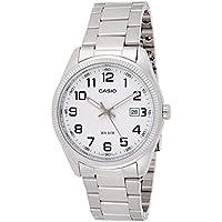 Casio Reloj Analogico para Hombre de Cuarzo con Correa en Acero Inoxidable MTP-1302PD-7BVEF