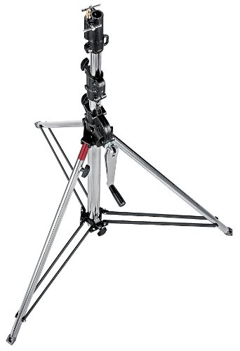 Manfrotto Stativ Wind-Up Kurz Sil. 3-tlg
