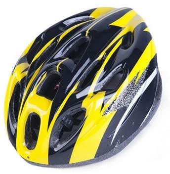 Geagodelia Casco Bicicleta con Visera Casco Adulto de Bicicleta Ciclismo Carbono Montaña al Aire Libre