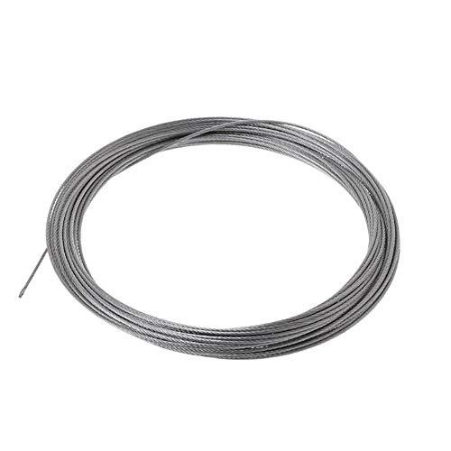 SOFIALXC - Cable de Alambre de Acero Inoxidable de 1 x 7...
