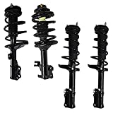 Detroit Axle - Front Rear Complete Struts Replacement for 2002-2003 Lexus ES300 Toyota Camry, Coil Spring Assembly Set - 4pc Kit