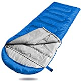 Winner Double Sleeping Bag with Compression Sack,Mummy Hood with...