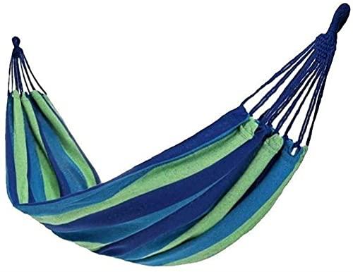 QUERT Columpio Columpio portátil para Exteriores Camping Doble Hamaca Individual y Mochila para Exteriores Columpios de Supervivencia y Viaje