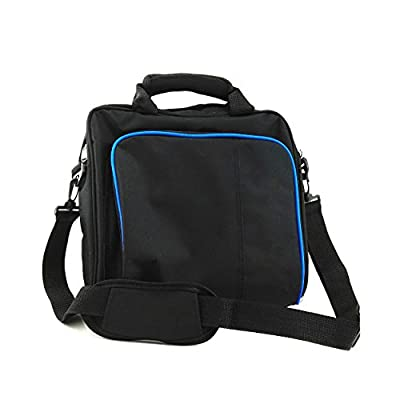 Carrying Shoulder Bag for Sony Playstation PS4 and Slim System Console Accessories Travel Storage Handbag Protective Case