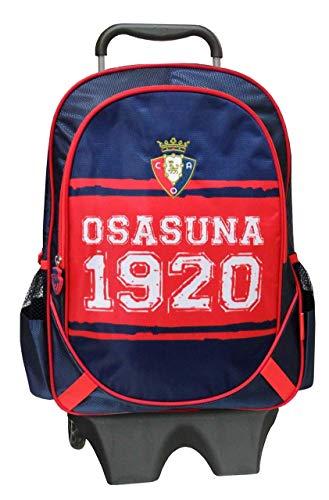 Osasuna MC-01-SA Mochila con Trolley Extraíble, 43 cm