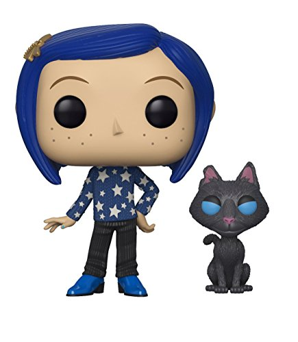 Pop! Coraline - Figura de Vinilo Coraline with Cat