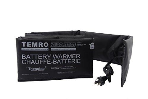 Zerostart 2800055 Electric Battery Blanket Battery Heater Wrap, 28-Inch | 120 Volts | 50 Watts