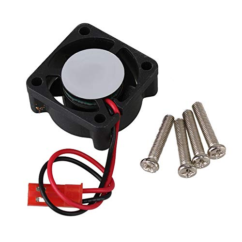 BQLZR Ventilador de motor sin escobillas N10046, 25 x 25 mm, color negro