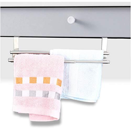 Toallero, resistente Toallero de doble capa, alta calidad para el hogar y el baño