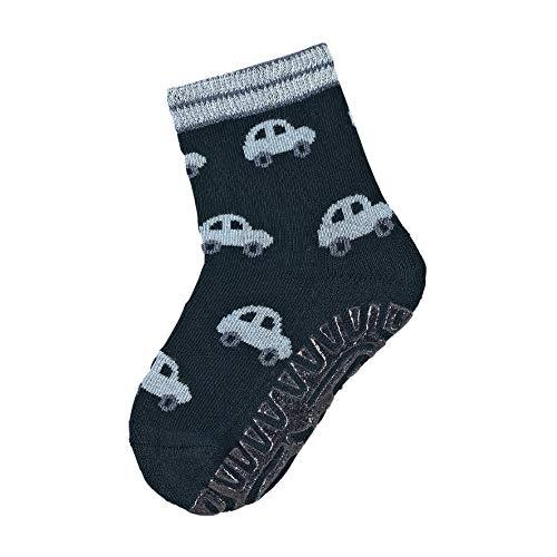 Sterntaler Baby-Jungen FLI AIR Autos Socken, Blau (Marine 300), 12-18 Monate (Herstellergröße: 22)