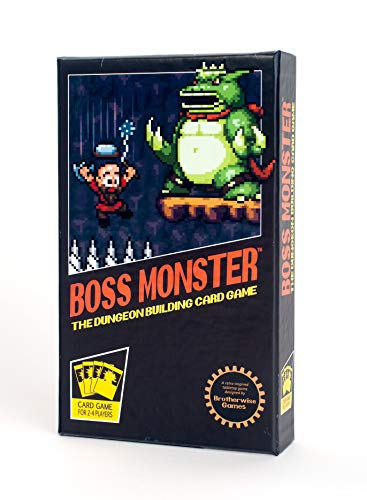Boss Monster dungeon building card game gift idea