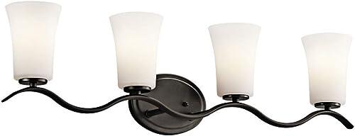 lowest Kichler popular Lighting Armida - Four Light Bath Bar 45377OZ, Olde Bronze high quality Finish online sale