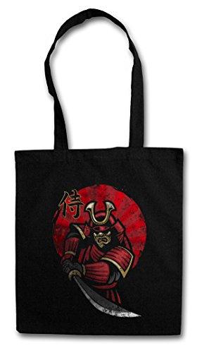Urban Backwoods Samurai III Hipster Bag Beutel Stofftasche Einkaufstasche