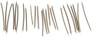 Musiclily Stainless Steel 2.9MM Acoustic Electric Guitar 24 Frets Fret Wire Fret wire Set, Chrome