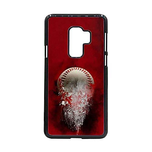 Caja Dura del Teléfono De La Pc Compatible con Samsung S9Plus para Niño con Baseball 3 Bonito Choose Design 78-3