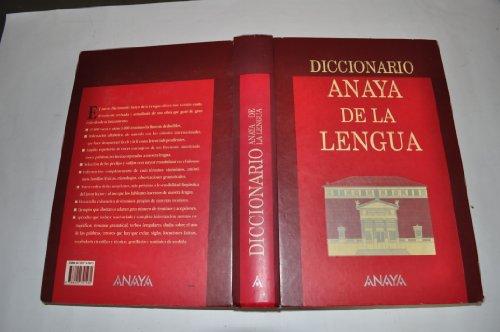 Dicionario Anaya De La Lengua
