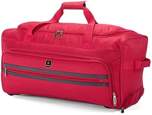 Benzi - Bolsa de Viaje Poliester 67 x 32 x 30 cm BZ5387 (Rojo)