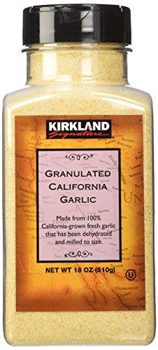 Kirkland Signature California granulated garlic, 18 oz