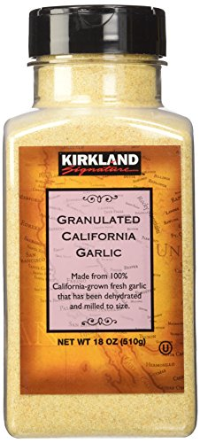 Kirkland Signature California granulated garlic, 18 oz
