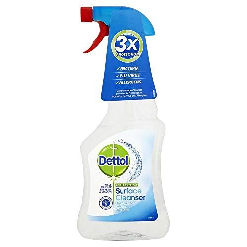 Dettol Anti Superficie bacratial Limpiador 500 ml de pulverización - 047643 - Embalaje Puede Variar