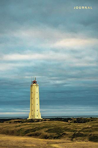 Journal: Lined Notebook | Lighthouse in Iceland (Travel Photography Journals)