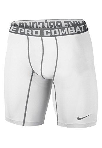 Nike Men's Pro Combat Core Compression 2.0 Short Sleeve Shirt, Orange, Large