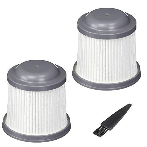 GOLDTONE Replacement Vacuum Filter Replaces BLACK & DECKER Pivot Vacuum Filter PVF110 90552433-03 for: PHV1410, PHV1810, PHV1210, BDH2000PL, BDH2020FLFH, BDH1620FLFH, HFVAB320JC26, HFVB320J27 (2 PACK)