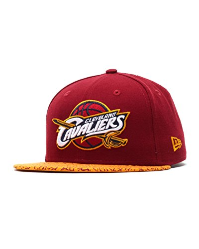 New Era Cleveland Cavaliers Elephant Vize Cap 59fifty Basic Fitted Basecap Men
