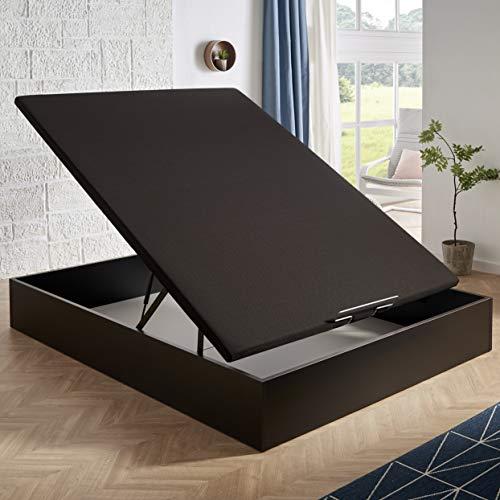 HOME Canapé abatible MagicBox Medida 150x190 cm Color Wengué