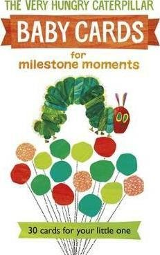 Price comparison product image Very Hungry Caterpillar Baby Cards for Milestone Moments