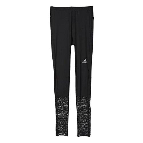 Adidas Supernova Graphic Pantalon Long Collant de Course Taille S Noir - Noir