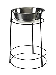 "SPOT Hi-rise Single Elevated Dog Bowl | Elevated Dog Feeder For Medium Dogs | Elevated Dog Feeder For Large Dogs | 15"" Elevated Pet Feeder Station 