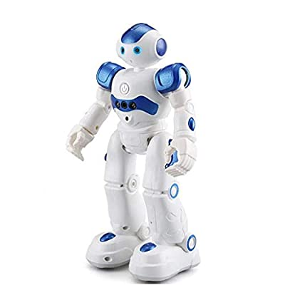 CreazyBee RC Robot War Warrior Remote Control Smart Robots Hydro Electric Hybrid Intelligent Interactive Action Figure Early Education Kids Toy with Dancing Singing (Multicolor)