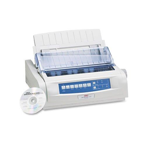 6COU Oki 62418701 Microline 420 Dot Matrix Printer