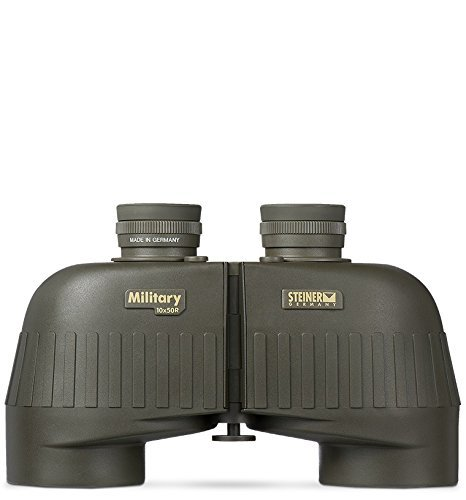 Steiner 536 10x 50mm Military R Binocular, Green by Steiner