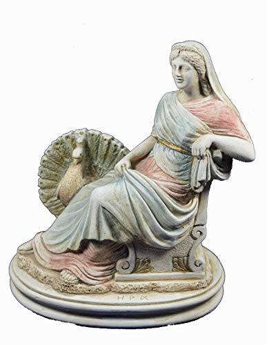 Estia Creations Hera Escultura Antigua Diosa Griega de las Mujeres Estatua Artefacto