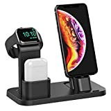 Conido 3 in 1 Charging Stand for Apple Watch Series 5/4/3/2/1, AirPods Dock and iPhone 11/XS/X Max/XR/X/8/7/6S/6