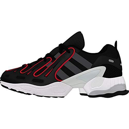 adidas EQT Gazelle, Zapatillas de Gimnasia para Hombre, Negro (Core Black/Grey Six/Energy Pink F17 Core Black/Grey Six/Energy Pink F17), 36 2/3 EU