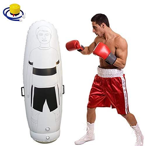 Lefuyan 1.6m Adult Inflatable Soccer Dummy Goalkeepr Air Mannequin Free Kick Defender Wall