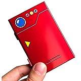 SpunKo Premium Game Card Case für Nintendo Switch, Aluminium, tragbar & dünn Game Card Storage Holder Box mit 6 Kartuschen Slots