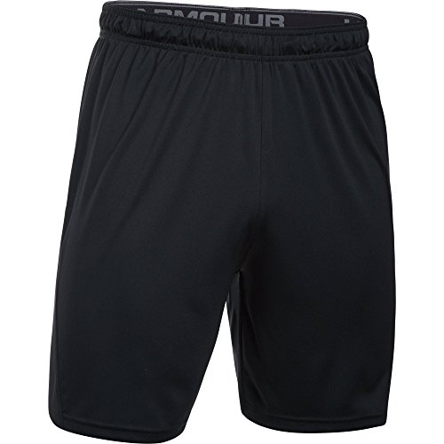 Under Armour Challenger II Knit Short, Pantaloncini Uomo, Nero (Black/Graphite), L