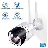Wesecuu Wireless 1080P HD Home Surveillance Camera