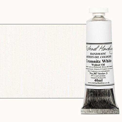 Michael Harding Handmade Artists Oil Color 40ml - Cremnitz White No. 2
